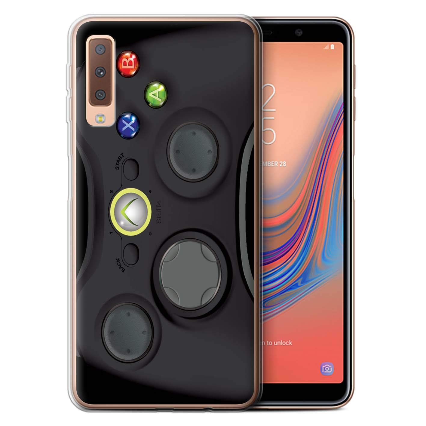 Amazon Com Phone Case For Samsung Galaxy A7 2018 A750 Games