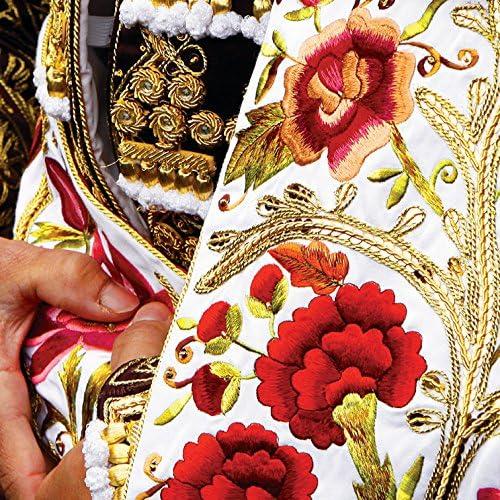 Vertikale D/écoration Murale Tableau Toile Costume de Torero Panoramique 40 x 100 cm
