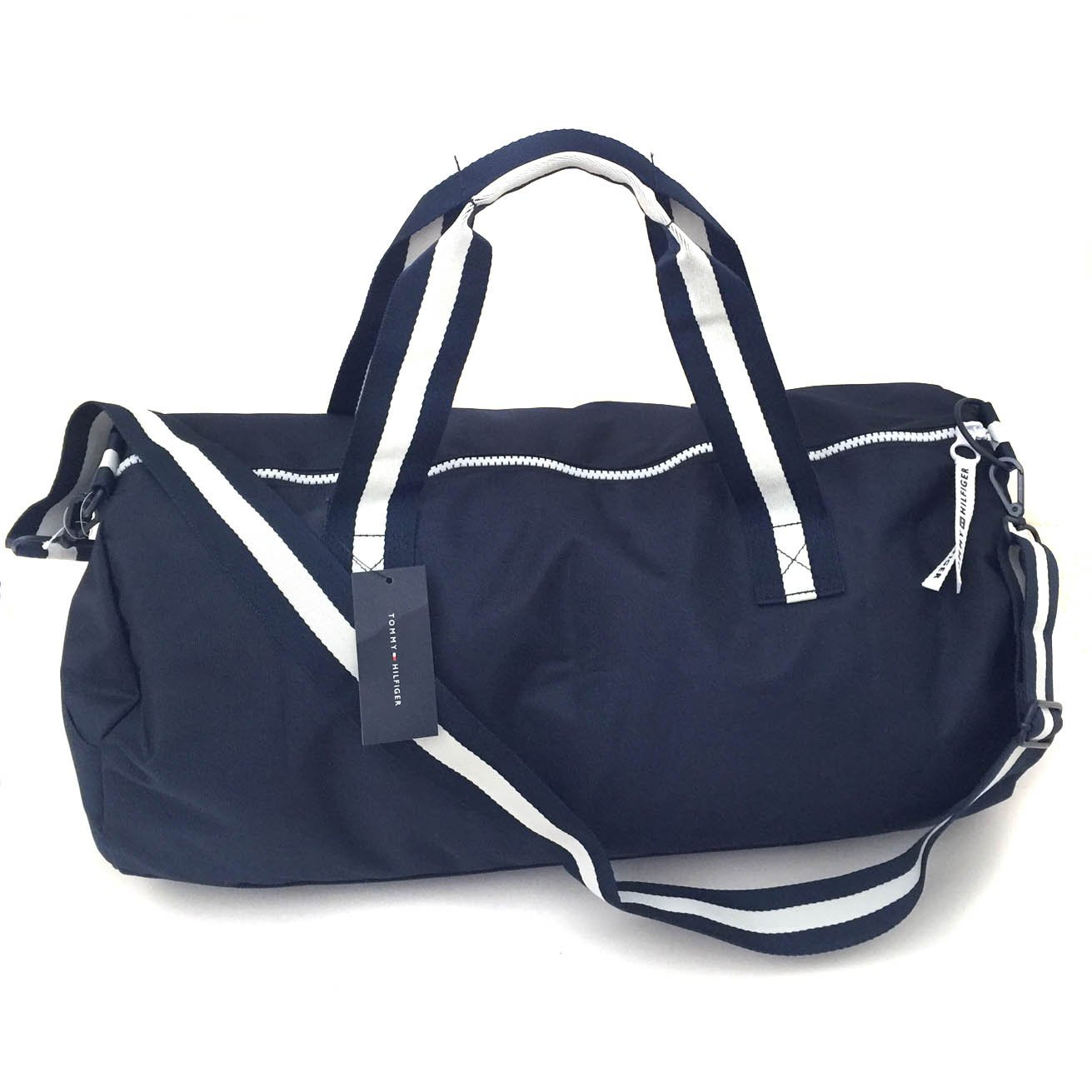 a84488bde1b Amazon.com: Tommy Hilfiger Duffle Bag Tommy Patriot Colorblock, Navy:  Clothing