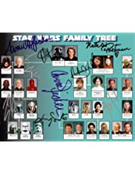 Star Wars Cast Signed Autographed 8 X 10 Reprint Photo #12 - Mint Condition