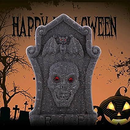 bazaar halloween horror props foam skull gravestones garden holiday decoration