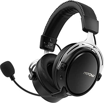 Mpow Air 2.4G Auriculares Gaming para PS4, PC, Xbox One, Estéreo ...
