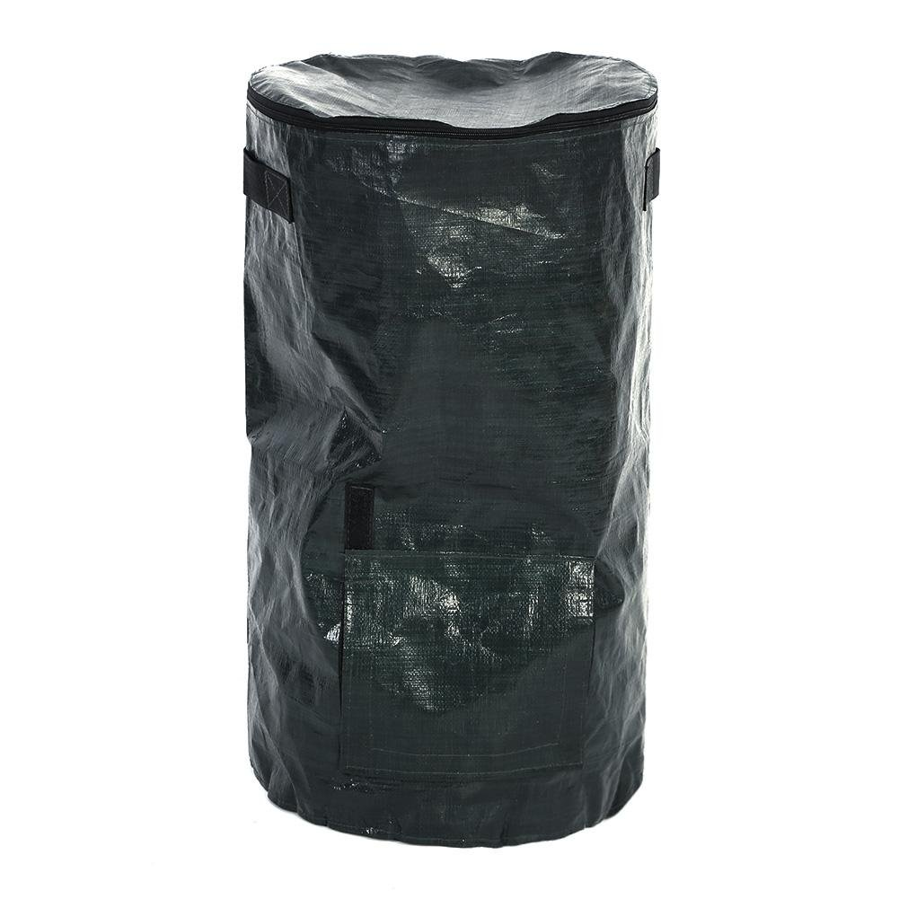 35 x 60cm Organic Waste Fermentation Environmental PE Cloth Composting Bag for Fruit Kitchen Garden Yard Zerodis Garden Planter Bag
