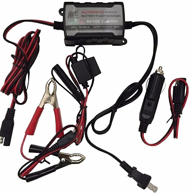 Car Battery Tender charger changing system 12V classic car storage tool