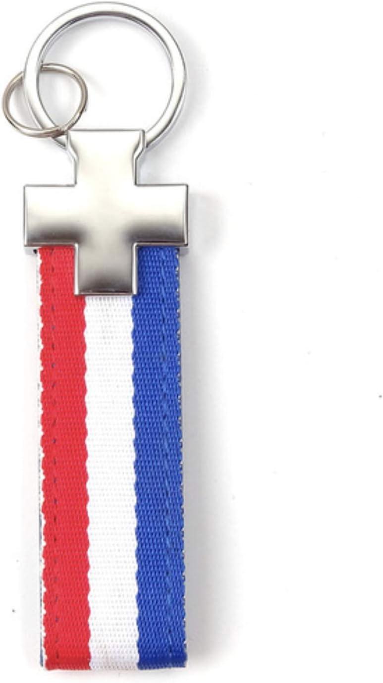 Llavero de piel de edici/ón limitada con bandera de pa/ís Alemania PSL