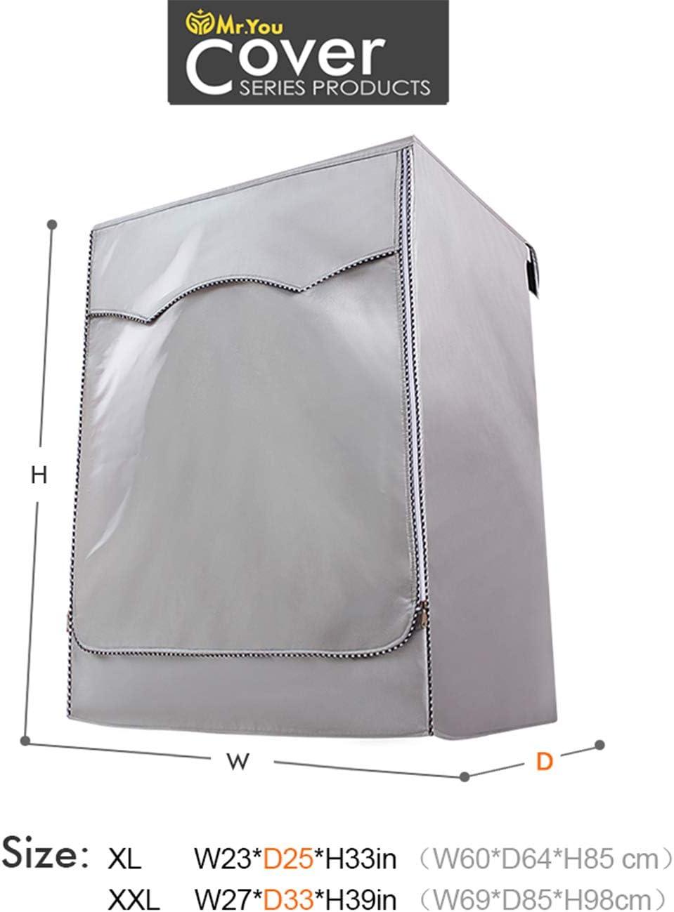 Amazon.com: Funda de lavadora y secadora para lavadora de ...