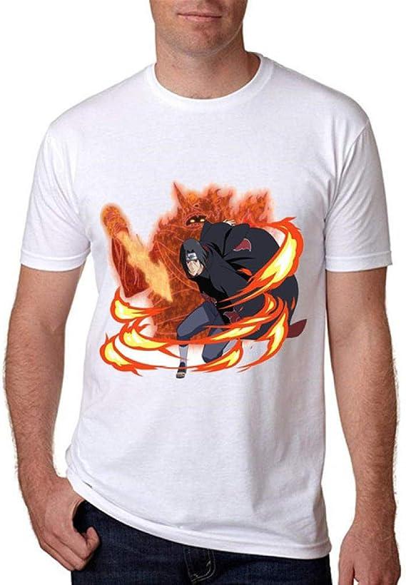 TWQOFV Camisetas Hombre y niño Iguales Naruto Camiseta ...
