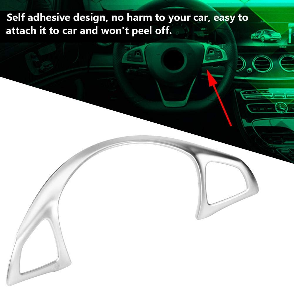 Volante Trim 1 PC di Car Steering Wheel Trim Sticker decorativo per Mercedes Benz E W213 C W205 GLC X253.