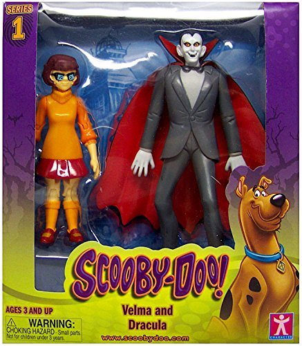 (Scooby Doo Velma and Dracula Action Figures 5