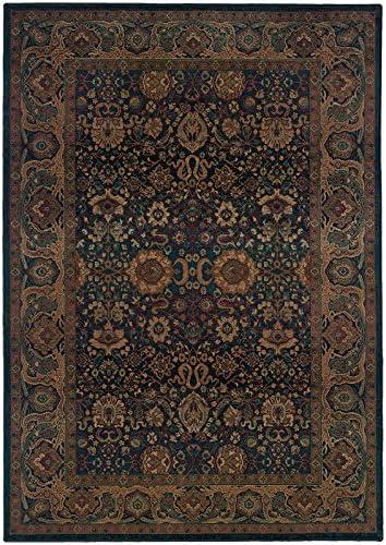 Oriental Weavers Kharma 332×4 Area Rug, 9 9 x 12 2 , Blue