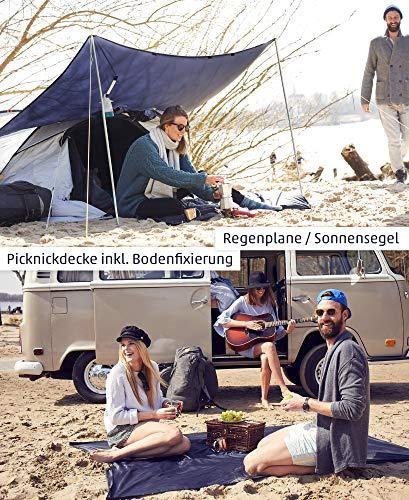 61tKY0l9XdL alpenmüller® Regenponcho Fahrrad Damen Herren Regencape | Der Testsieger für Outdoor Ausrüstung + Camping Gadget Die…