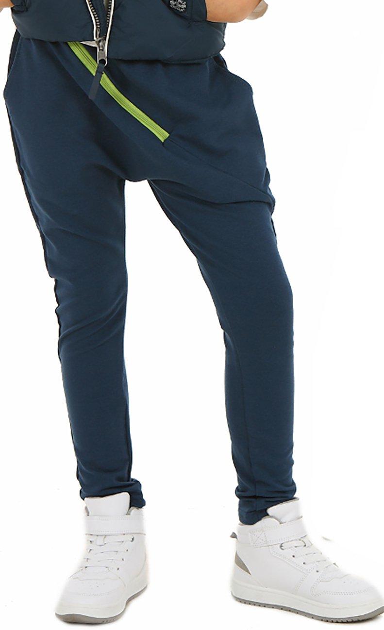Solvera Ltd _ Mädchen Baggy Hose mit ZIP Sportshose HERBST Frühling Sommer Schule Camuflage Military Hosen oder Einfarbig 116-158