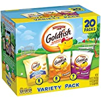 20 Pack Pepperidge Farm Goldfish Snack Packs 19.5 oz