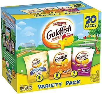 20 Pack Pepperidge Farm Goldfish Snack Packs