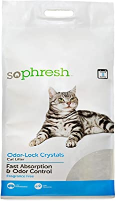 So Phresh Odor Lock Crystal Cat Litter