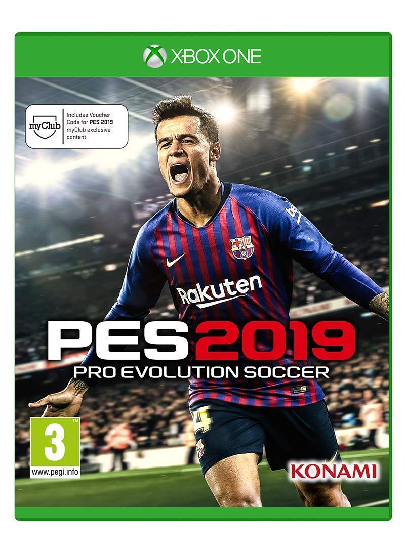 Amazon.com  Pro Evolution Soccer 2019 (Xbox One)  Video Games 5609c2b51