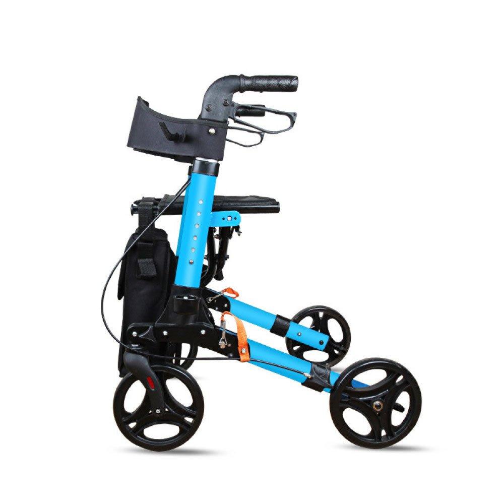 YAN-Walker Andador para Ancianos De 4 Ruedas | Aluminio ...