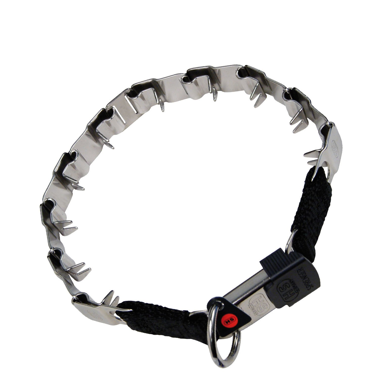 Herm Sprenger Original NEW Metal Collar ''Neck Tech'', Size: 24'', Stainless Steel, Life Time Warranty. by HS METAL COLLARS