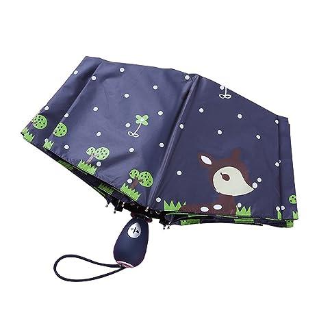 Plegables Paraguas Protección Solar Sombra Sombrilla para ...