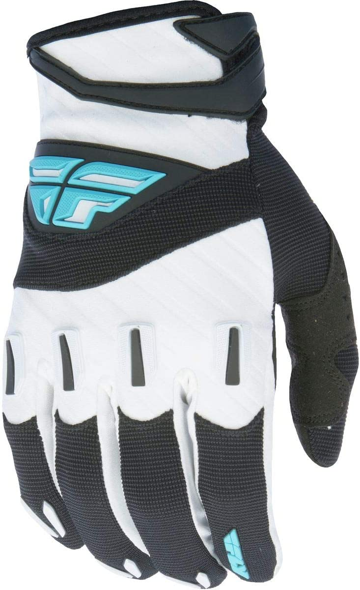 Fly Racing Unisex-Adult F-16 Gloves Black//White XXX-Large 370-91013