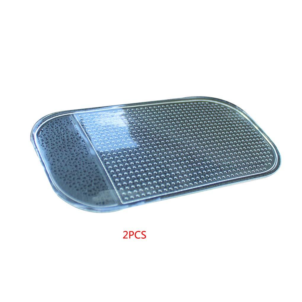 Four 2pcs Transparent Anti-Slip Sticky Mat Small Non-Slip Pad Car Dashboard Moible Phone Holder