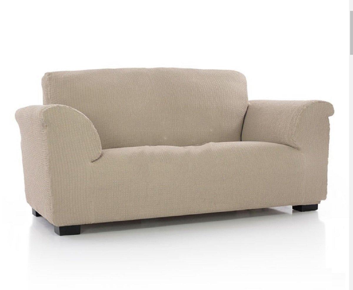 textil-home Funda de Sofá Elástica TIDAFORS, 3 plazas - Desde 180 a 240 cm. Color Beige (Modelo Exclusivo Funda Sofá TIDAFORS IKEA): Amazon.es: Hogar