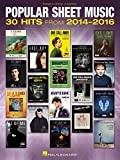Best Piano Music Books - Popular Sheet Music: 30 Hits from 2014-2016 Review