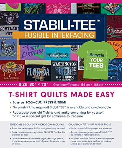 Stabili-TEE Fusible Interfacing Pack, 60