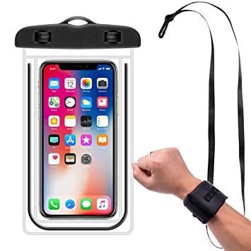 Amazoncom Waterproof Phone Case With Floating Wrist Band And - How to use cell phone on cruise ship