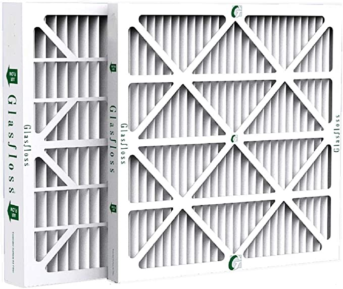 by Glasfloss Industries 6 Pack 20x20x4 Merv 13 Furnace Filter