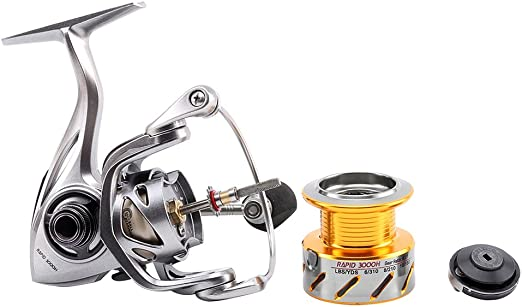 SKYSPER Carretes de spincasting 10 + 1BB Pesca Spinning Carrete ...