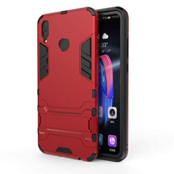 DAYNEW Coque pour Huawei Y9 2019, Dual Layer Etui Antichoc Premium Iron Man  Ultra Slim Antichoc Coque Etui pour Huawei Y9 2019,Rouge Amazon.fr  High,tech
