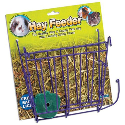 - Ware Manufacturing Hay Feeder with Free Salt Lick