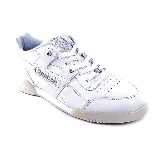 91f8d8e81b60dd Reebok Workout Plus Low Sneaker White  Amazon.ca  Shoes   Handbags