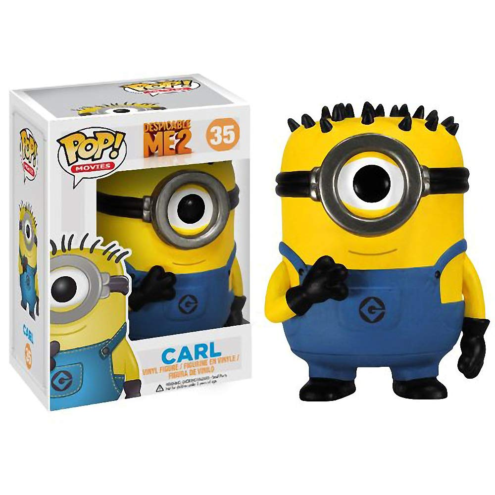 #035 // 03370 - B Compatible PET Plastic Graphical Protector Bundle BCC9U6X1 Movies Vinyl Figure /& 1 POP Funko Carl: Despicable Me 2 x POP