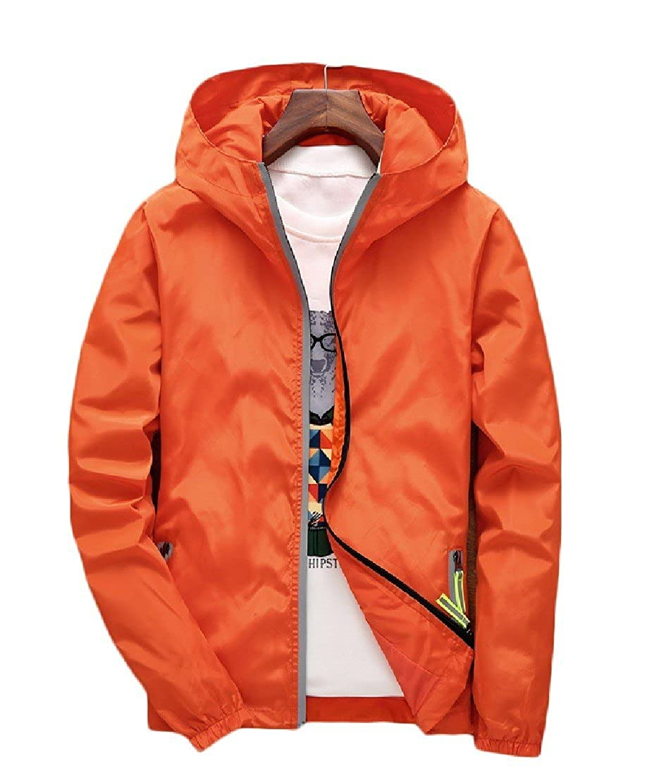 Tootless-Men Leisure Workout Baggy Pea Coat Jacket