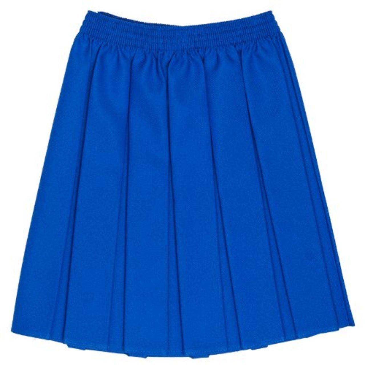 School Skirt Girls Box Pleat Uniform Sizes