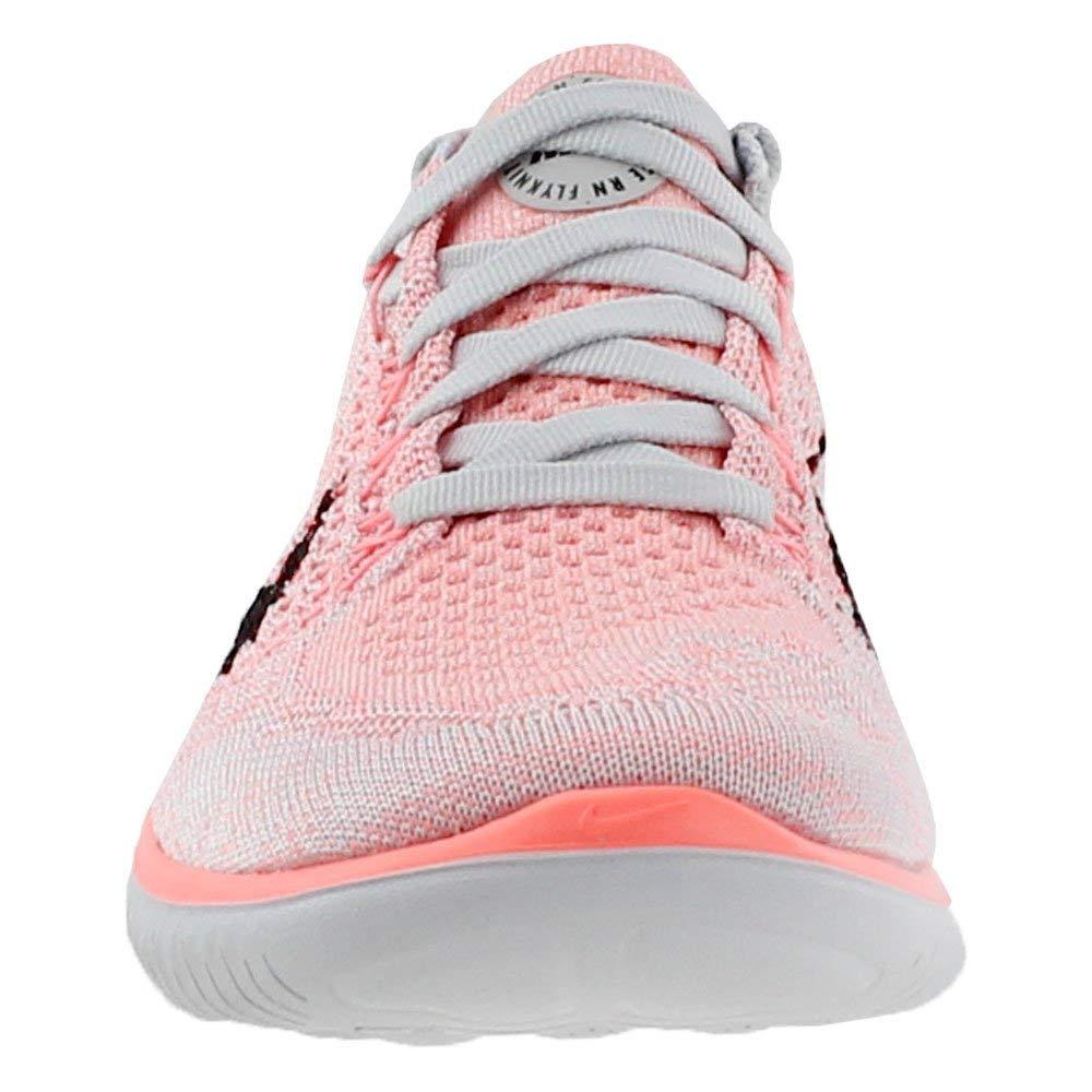 Nike Women's Free Rn Flyknit 2018 Crimson Pulse/Black Ankle-High Running Shoe - 5.5M by Nike (Image #5)
