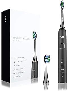 Cepillo de dientes eléctrico sónico de Nueva Generación de Oliver James, 5 Modos, Carga