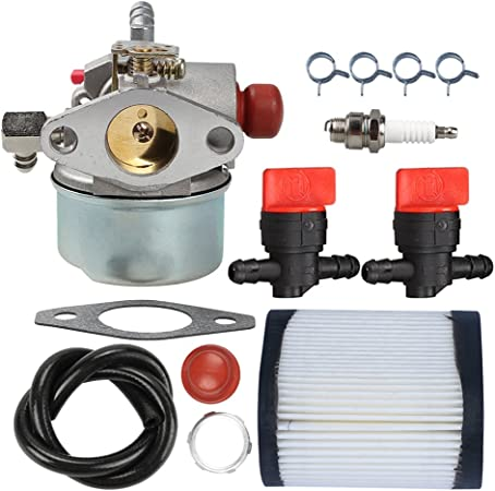 New Carburetor Carb w// Gasket Spark Plug Clamp For Tecumseh 640350 640303 640271