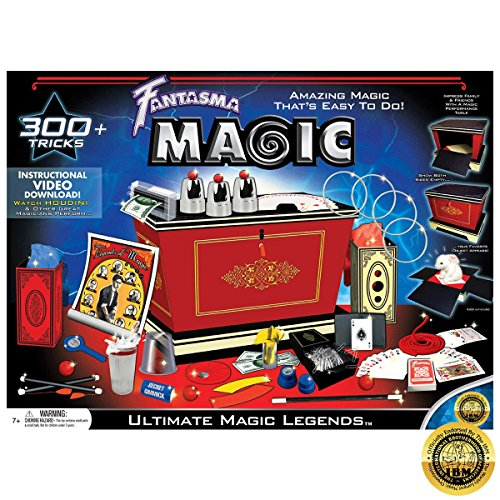 Fantasma Ultimate Magic Legends Set 300+ Tricks Kids Children Gift Game Fun