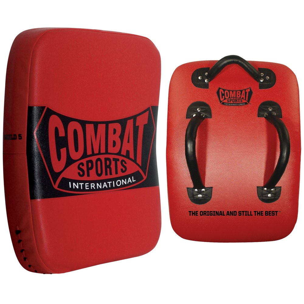 Combat Sports Kickboxing Muay Thai MMA Training Kick Punch Strike Shield Big Pad