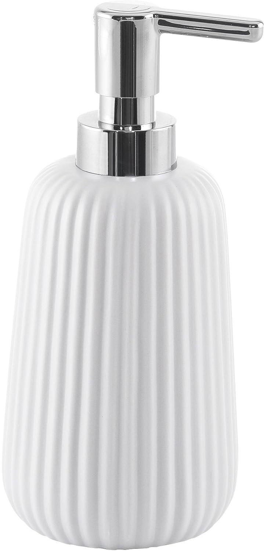 Gedy Marika Dosatore di Sapone 8/x 8/x 18 Ceramica Bianco