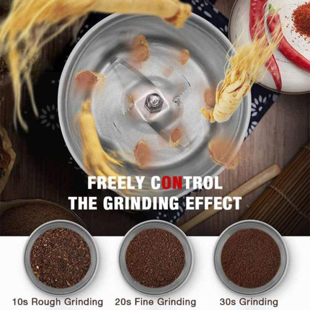 Multifunction Smash Machine-Portable Electric Cereals Grain Grinder for Small Foods Such As Beans and Seasonings
