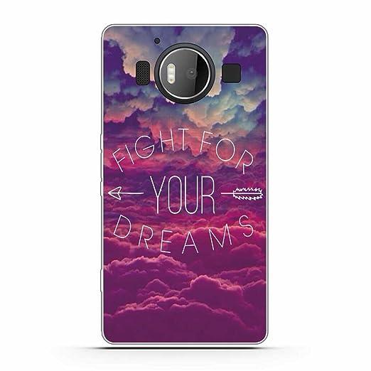 2 opinioni per Microsoft Nokia Lumia950 Cover, Fubaoda Alta qualità Stile popolare Dire TPU