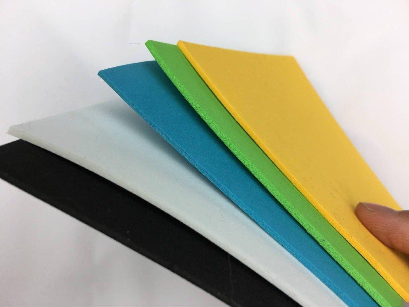 10/PCS 10/x 10/cm 4/Farben gemischt Fliegenbinden Schaumstoff Papier Tabelle d/ünn 2/mm EVA-Schaum ANT Bugs K/äfer Fliegen Binden Materialien