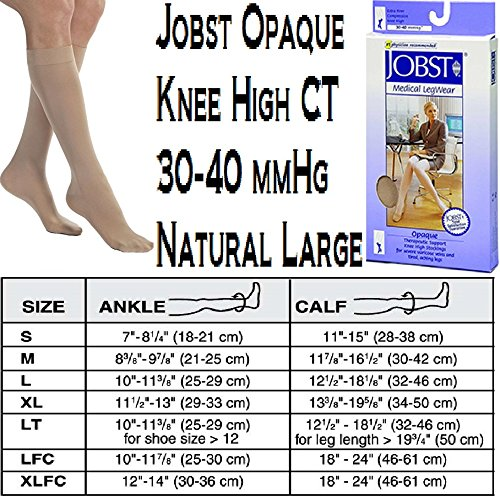 BSN Medical 115284 Jobst Opaque Compression Hose, Knee Hi...