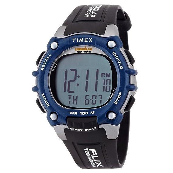 Timex T5E2419J - Reloj de cuarzo, correa de resina color negro