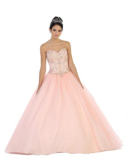 5504d92c30 Layla K LK78 Sweet 16 Prom Dance Ball Gown at Amazon Women s Clothing store