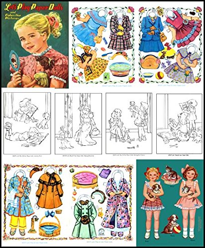 Download Let's Play Paper Dolls and Color the Pictures pdf